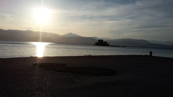 Sunset in Nafplio!