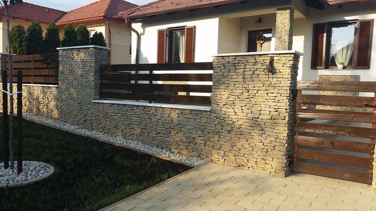szélezetlen deszka kerítés kerítésléc fa kerítés bükk tölgy vörösfenyő kerítésfestés festés kezelés veszprém
