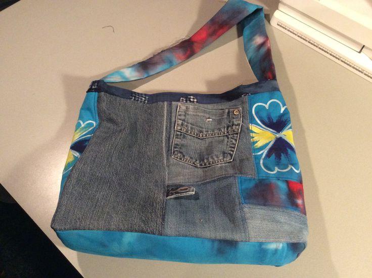oude spijkerbroekjes en lapjes