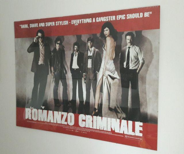 Romanzo Criminale UK Cinema Quad Poster, Italian gangster epic