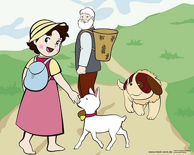HEIDI, GIRL OF THE ALPS - Cartoons | lecturas.org
