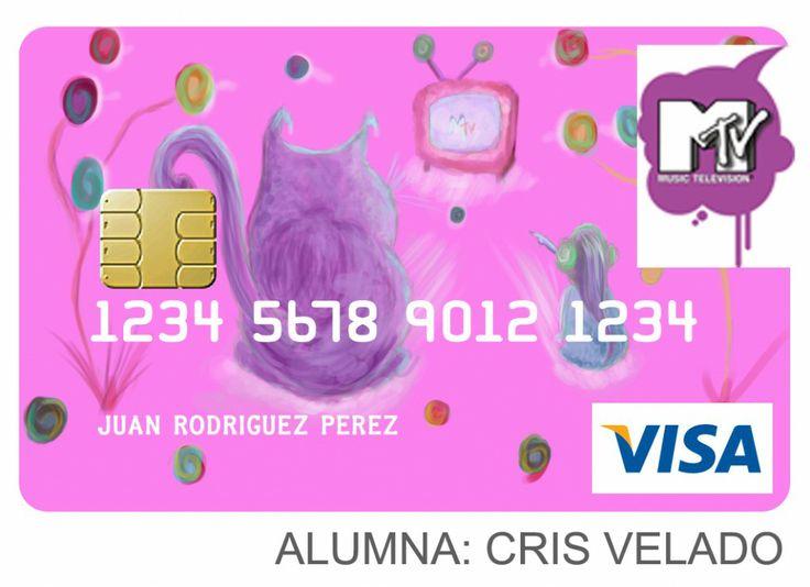 Un trabajo de Diseño de Tarjetas de Crédito realizado por una alumna.   http://www.arteneo.com/
