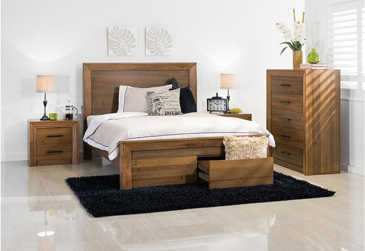 Lofty 4 Piece Tall Chest King Bedroom Suite Super A Mart