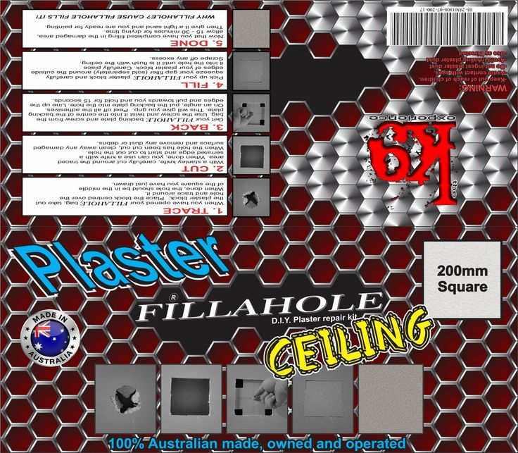 The time is ticking because there is only 11 days until your Fillahole® D.I.Y Plaster repair kit releases there amazing product so you can fix that hole in minutes not hours! WHY FILLAHOLE?  CAUSE FILLAHOLE FILLS IT