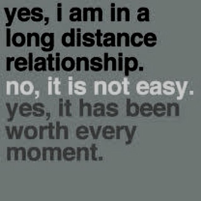 Dating long distance beginning
