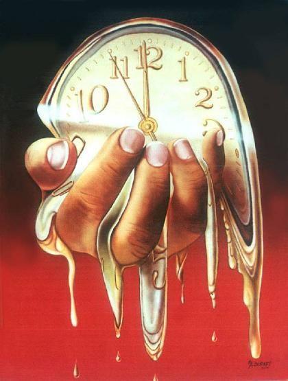 COMMUNITY ARTISTICA CULTURALE Google+ Allegato :RENE' MAGRITTE Artista Pittore Surrealista René Magritte Foto-Dipinto:  -El tiempo atravezado