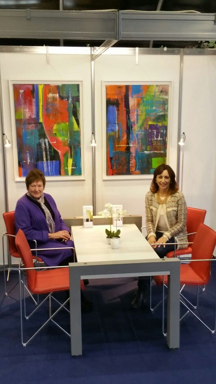 Most grateful to Anny Werjis-Dees of Kilcroney Furniture for kindly sponsoring my feng shui office room set at the Love Your Home Show 2017 (Belfast)