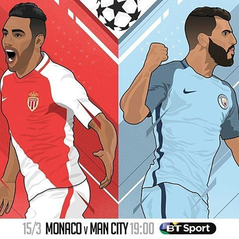 "583 Likes, 6 Comments - BT Sport (@btsport) on Instagram: ""Pep is set for his 100th European game as a manager in #ChampionsDraw No.46: ⚽ @asmonaco v @mancity…"""