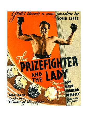 The Prizefighter and the Lady, Max Baer (1933) Notable Livermore, California Resident