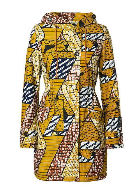 vlisco yellow coat - Google zoeken