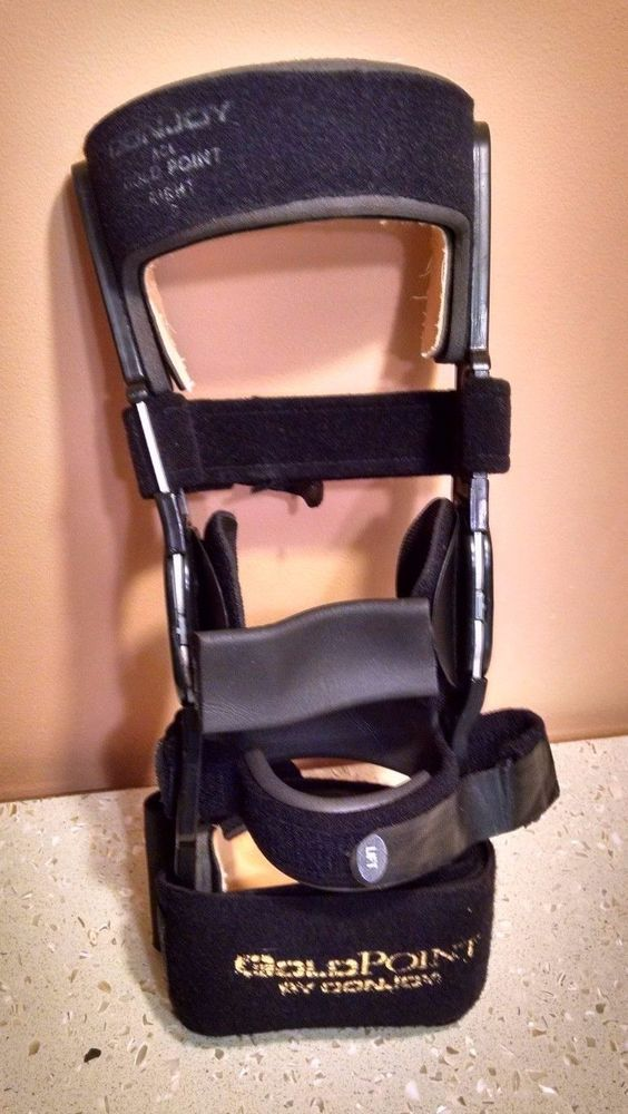 DONJOY ACL GoldPoint Orthopedic Right Knee Brace Small #DonJoy #ACL #GoldPoint #Orthopedic #KneeBrace #OrthopedicEquipment #Medical #ForSale #Shopping #eBay #discount #deal #bargain #BuyItNow