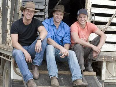 McLeod's Daughters - Marcus, Riley, and Patrick