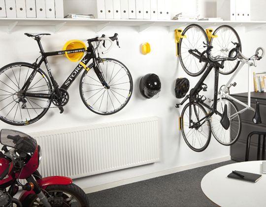 Best 25 bike storage solutions ideas on pinterest bike for Cool bike storage ideas