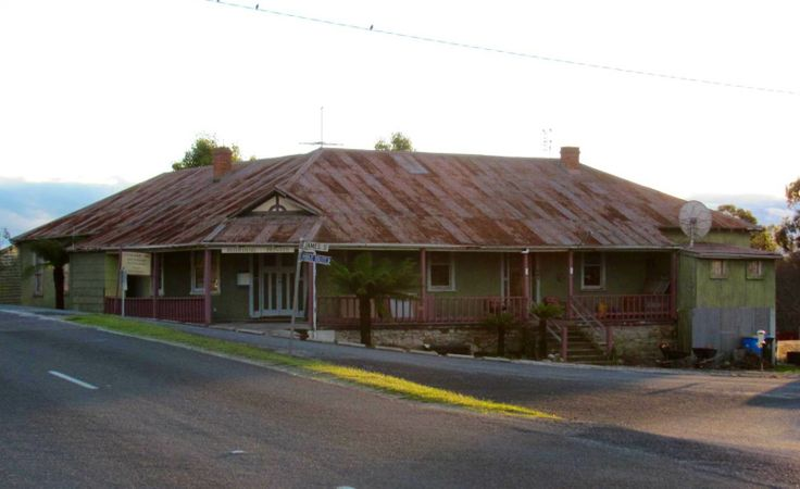 Former hotel at Pioneer in the Dorset Municipality of North East Tasmania.