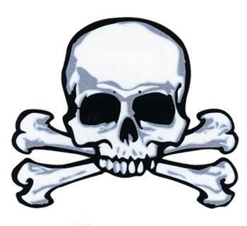 Piraten Tattoo Skull & Bones #Pirate #PirateTattoo #Skull&Bones #PirateSkull