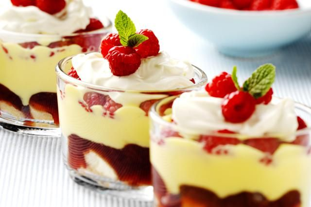 Create Fabulous Quick, Easy, British Desserts in Less Than 30 Minutes: Scottish Tipsy Laird Trifle Recipe
