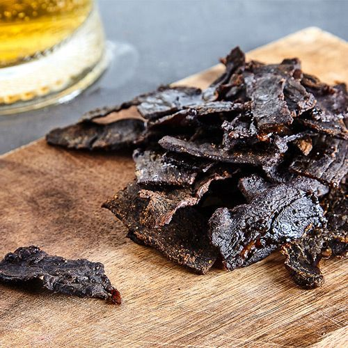 Black Pepper Smoked Jerky - Green Mountain Grills