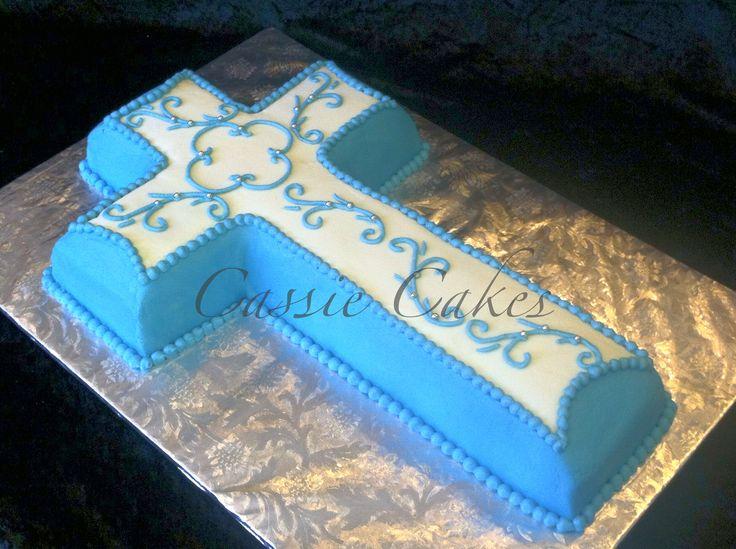 Cross Design On Cakes
