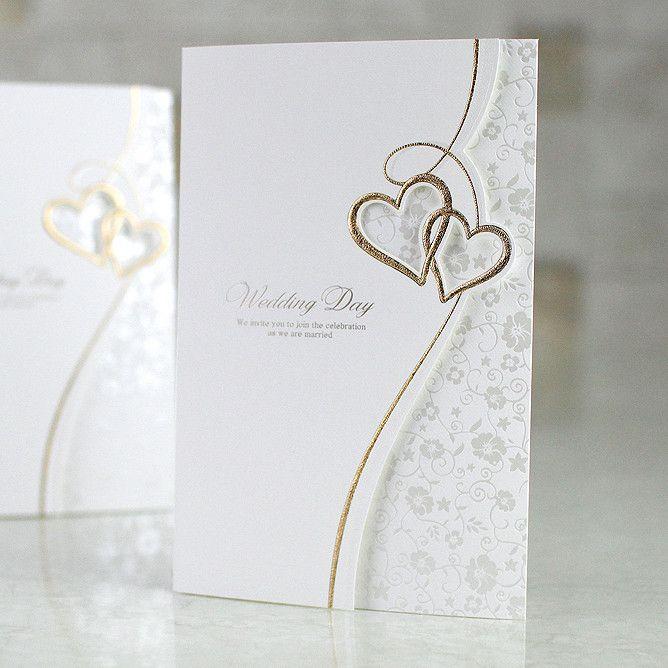 Best 25 Heart Wedding Invitations Ideas On Pinterest