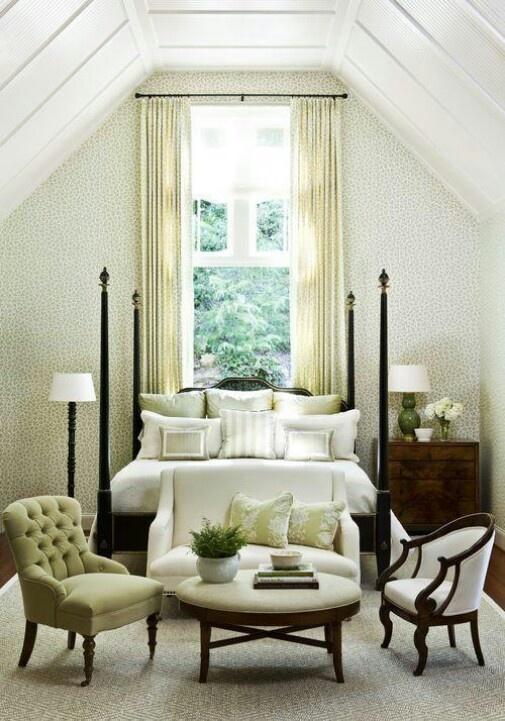 simple, chic bedroom