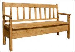 Jídelní lavice Sil 014 - s úložným prostorem - Jídelní lavice Sil 014