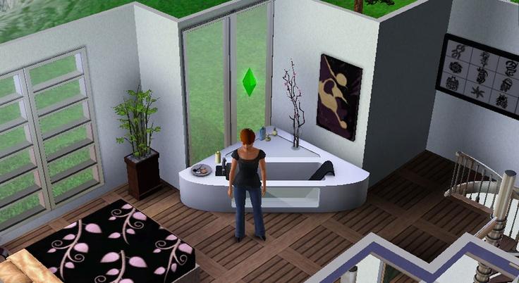 Interior, luxury cabin in Hidden Springs