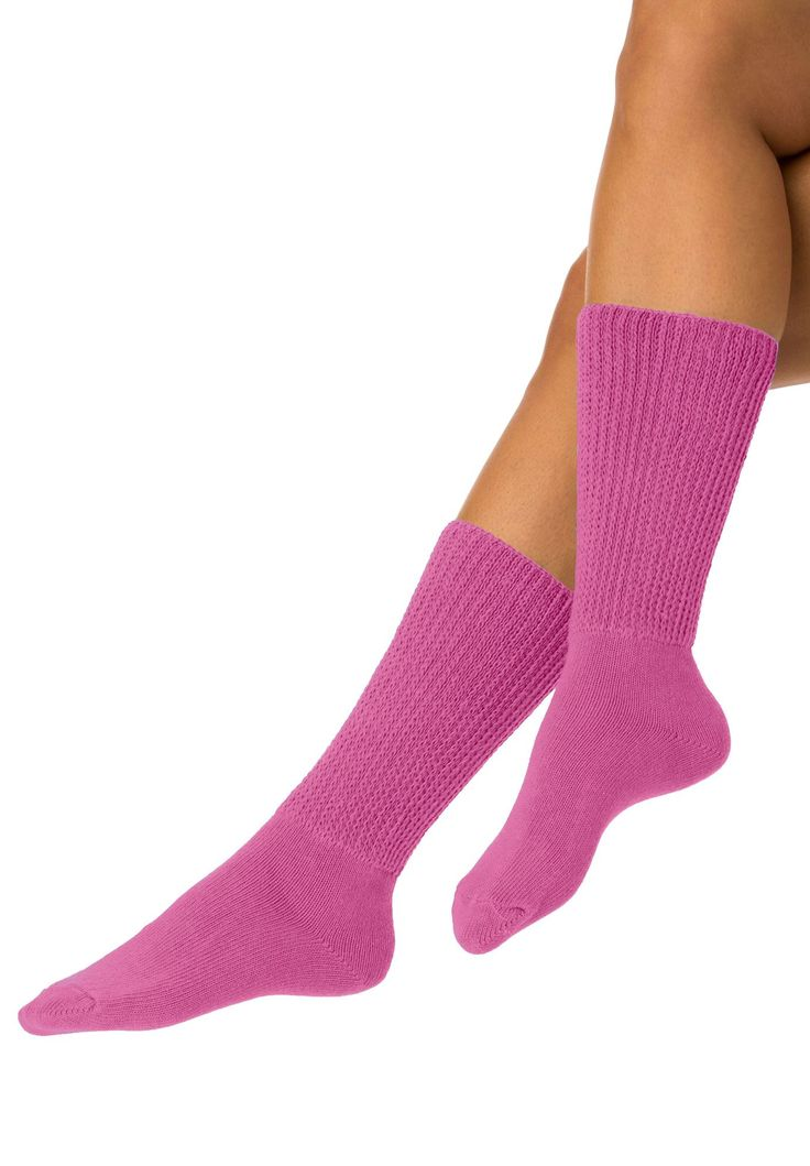 2-pack open weave extra wide socks by Comfort Choice - Women's Plus Size Clothing