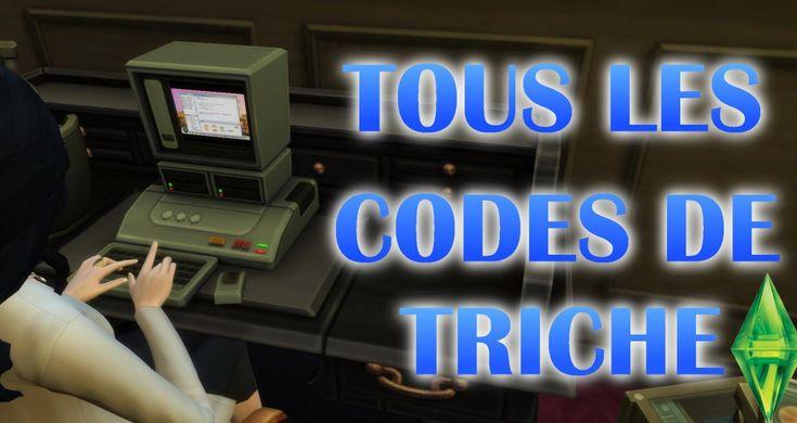 Les Sims 4 guide codes de triche