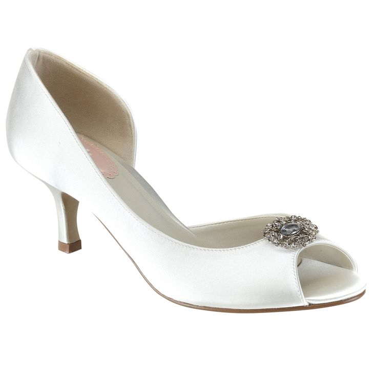 Pink Paradox Cinnamon - Wedding Shoes - Crystal Bridal Accessories. Dyeable  ...