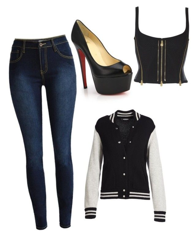 """""""Chic classic"""" by ophelierose on Polyvore featuring mode, Christian Louboutin et Marc Jacobs"""