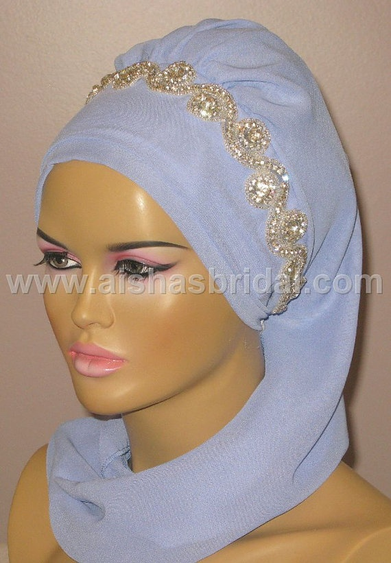 Ready To Wear Hijab  Code HT0127 by aishasbridal on Etsy, $36.28