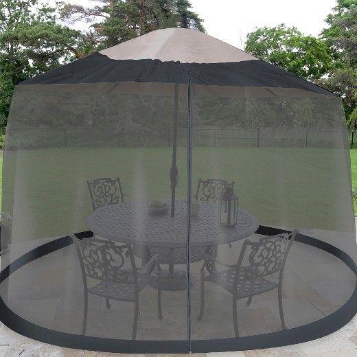 Patio Umbrella Mosquito Netting - 17 Best Ideas About Large Patio Umbrellas On Pinterest Large
