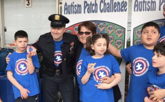 Community Policing at it's Best ... Will you participate in the New Rochelle Police Autism Patch Challenge? On April 2, 2018 at 0900 hours I am asking all participating agencies to do something special at a local school to promote Autism Awareness and Acceptance.
