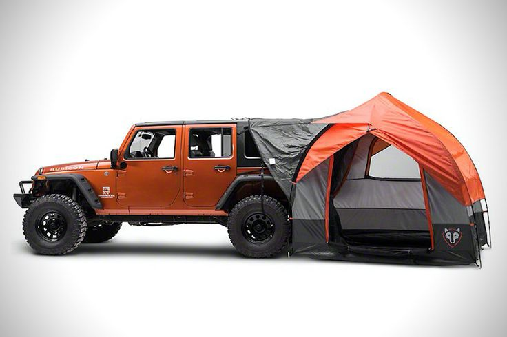 Rightline's Wrangler Tent Turns Your Jeep Into A Mobile Basecamp http://hiconsumption.com/2016/10/rightline-gear-suv-tent-for-jeep-wrangler