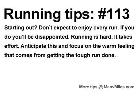 Running Tips: Toughen up.    Starting running or training for a marathon? Tips and help:Get more running tips and training advice