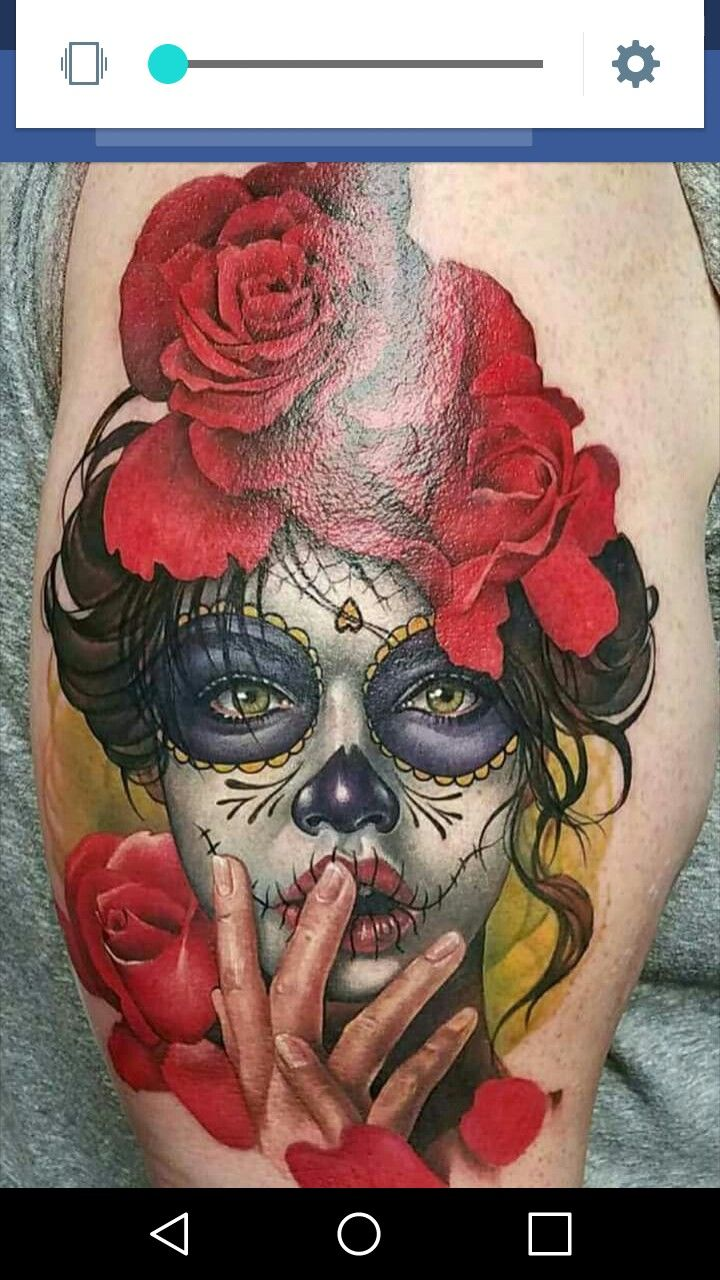 Av av avenged sevenfold tattoo designs - Incredible Tattoo The Colors Really Pop And That Is What Makes It Amazing