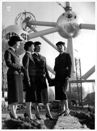 Expo 58 Guides, Bruxelles #Expo2015 #ExpoVintage #Bruxelles