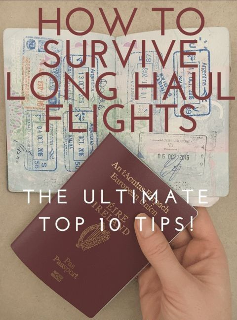 HOW TO SURVIVE LONG HAUL FLIGHTS 🛫🛫🛫😠