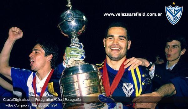 Jose Luis Chilavert - Copa Libertadores 1994 - Velez Sarsfield