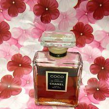 Vintage COCO CHANEL Eau De Parfum 1.7 Fl Oz 3/4 Full Bottle