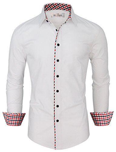 Tom's Ware Mens Fashion Casual Inner Plaid Long Sleeve Bu... http://www.amazon.com/dp/B00Y0924RE/ref=cm_sw_r_pi_dp_AiAuxb1HZVA92