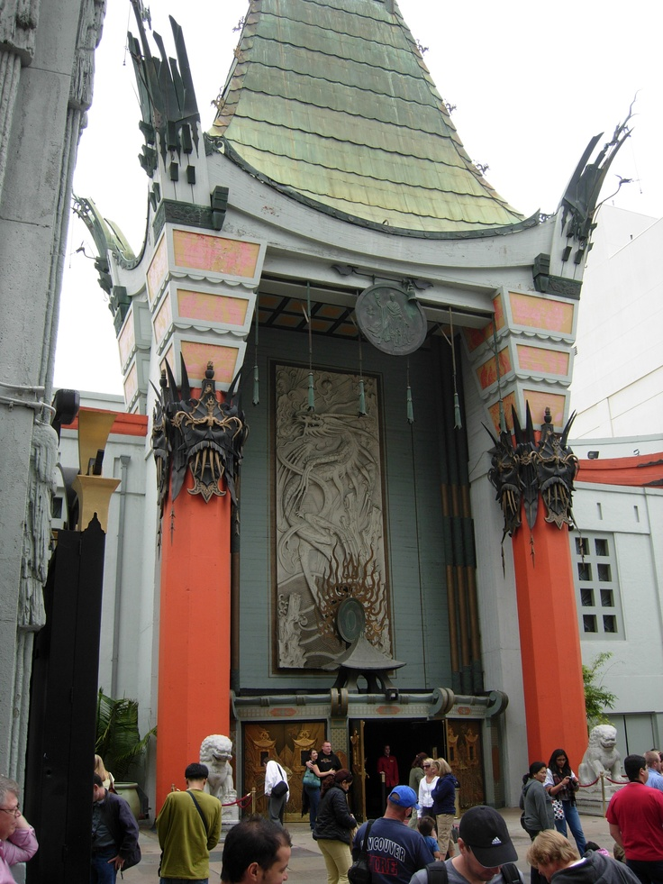The Chinese Theater in Hollywood, California