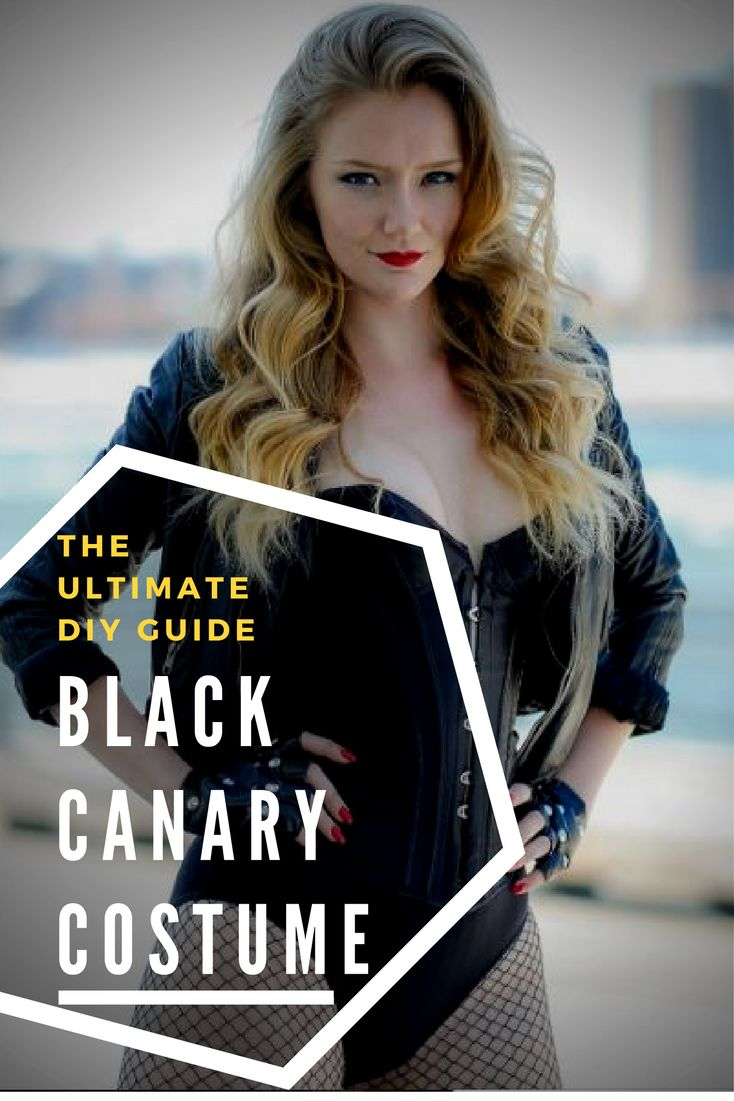 The Ultimate DIY Guide - Black Canary Costume -  Follow our guide to create the perfect DIY Black Canary cosplay!