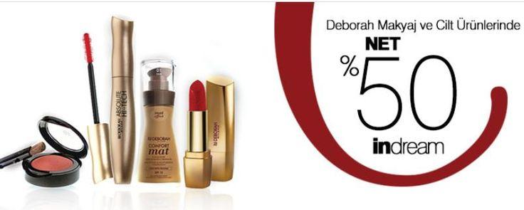 🐹  Cosmetica Deborah Makyaj & Cilt Ürünleri Modelleri Net %50 indirim ➡ https://www.nerdeindirim.com/deborah-makyaj-cilt-urunleri-modelleri-net-50-indirim-urun6602.html   #nerdeindirim #cosmetica #deborah #makyaj #ciltbakım #bakım #güzellik #cilt #makyajmalzemeleri