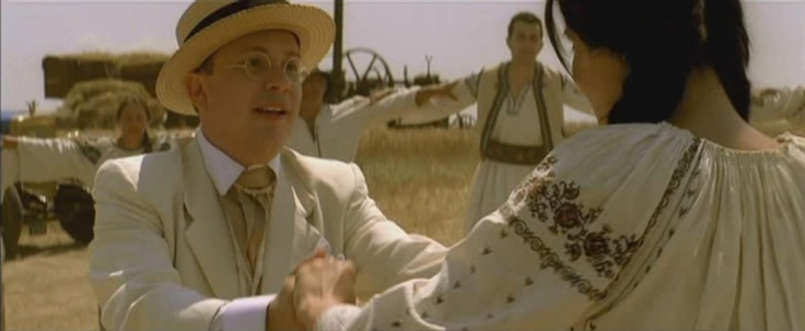 The Rest is Silence by Nae Caramfil (2007), #Romanian film about the history of Romanian cinema. The beginnings were inspired by Romanian peasants and their traditional dances. A scene in which the main actress invites the director to do the Hora.