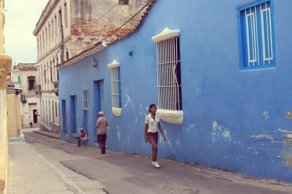 A street in Santiago, #Cuba