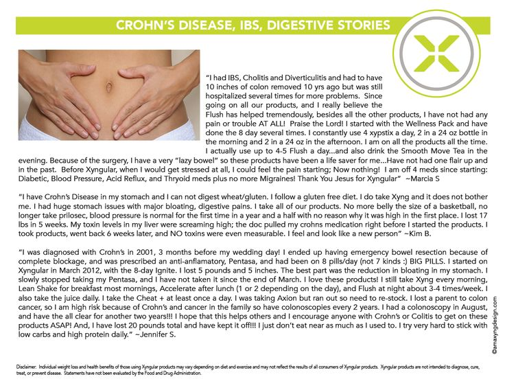 crohns disease cant lose weight