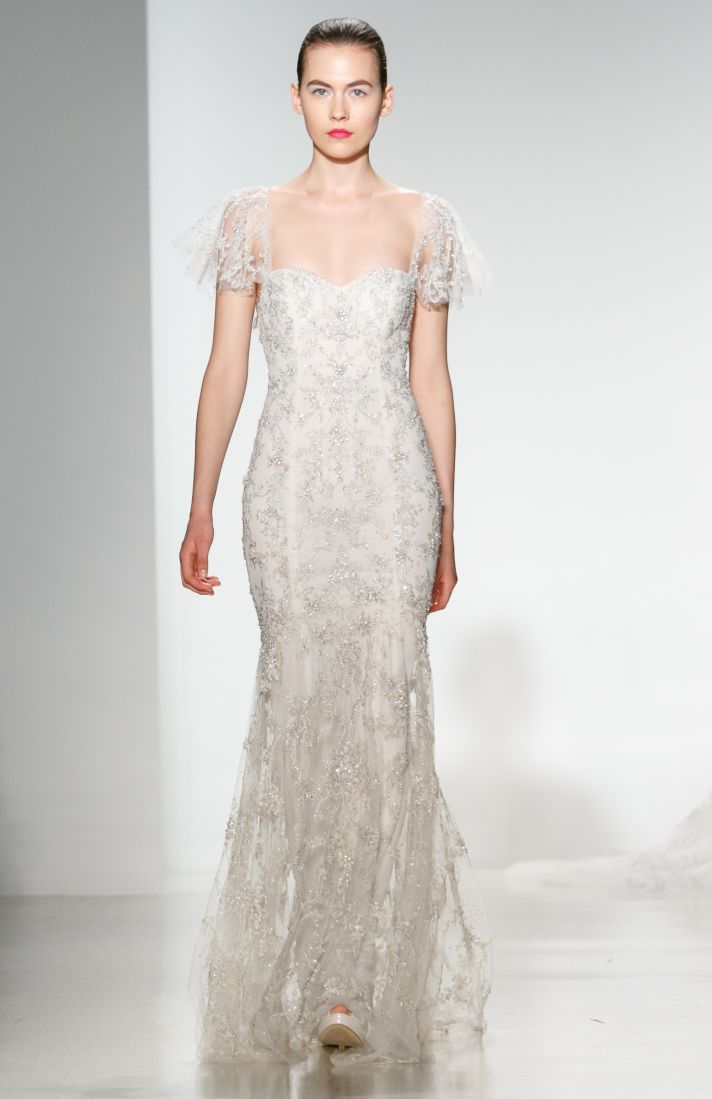 True Glamour with Kenneth Pool Spring 2014 Bridal | OneWed