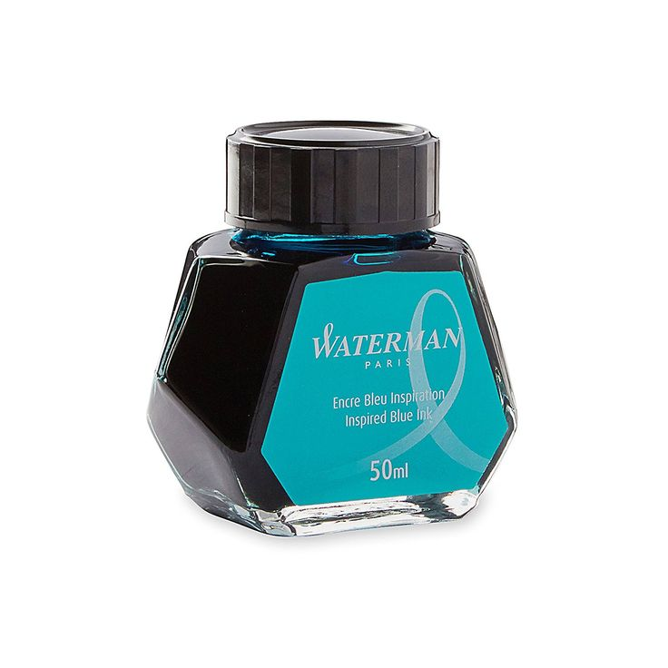 Waterman Fountain Pen Bottled Ink - Inspired Blue