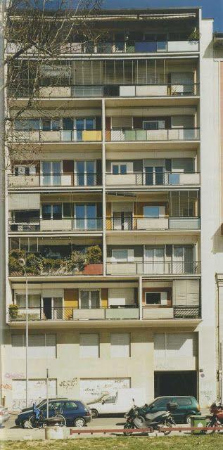 Gio Ponti Via Dezza in Milan, Italy